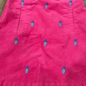 Pink Pineapple Vineyard Vines Girls Size 12